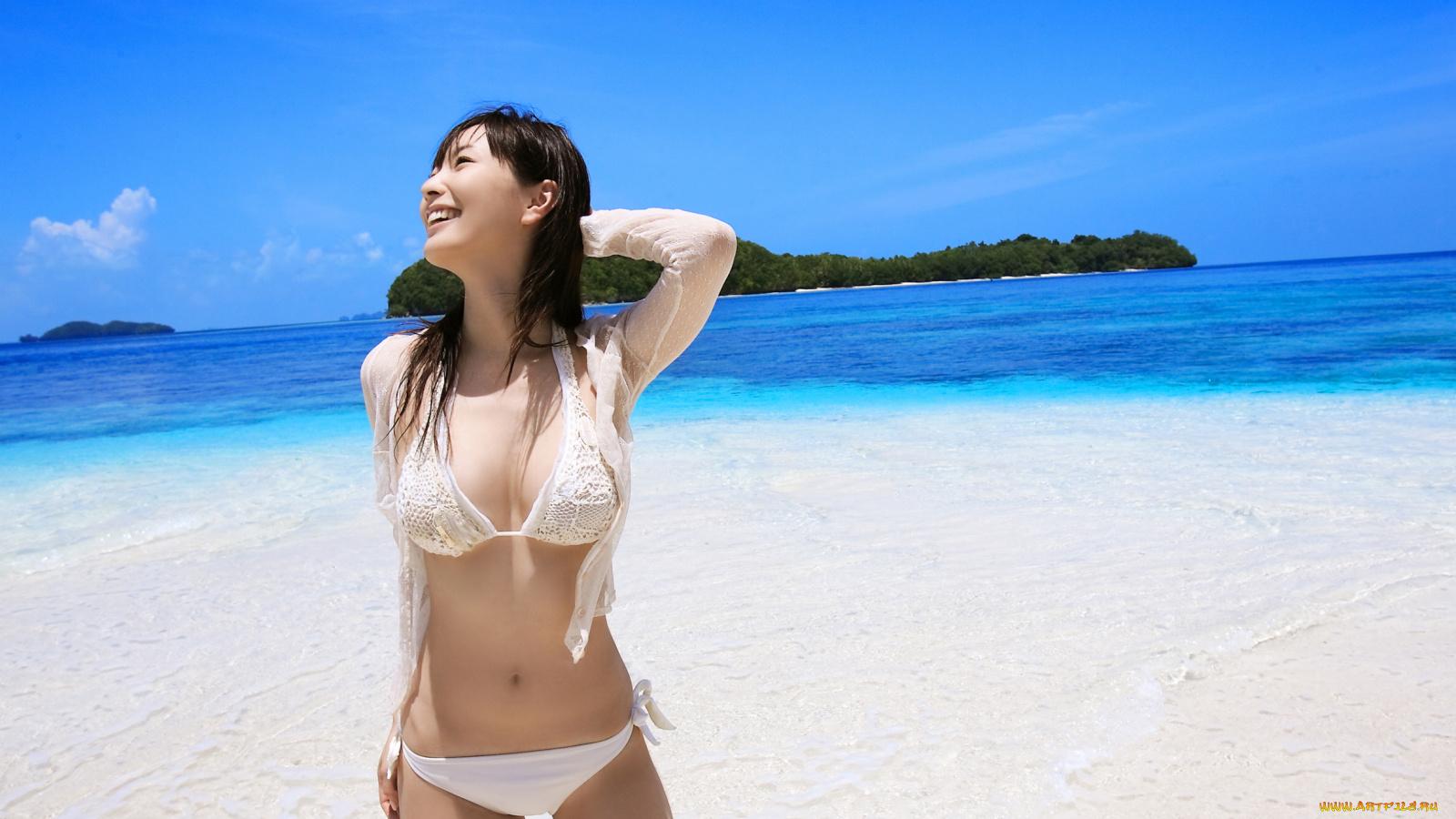 Китаянки красивые фото на пляже
