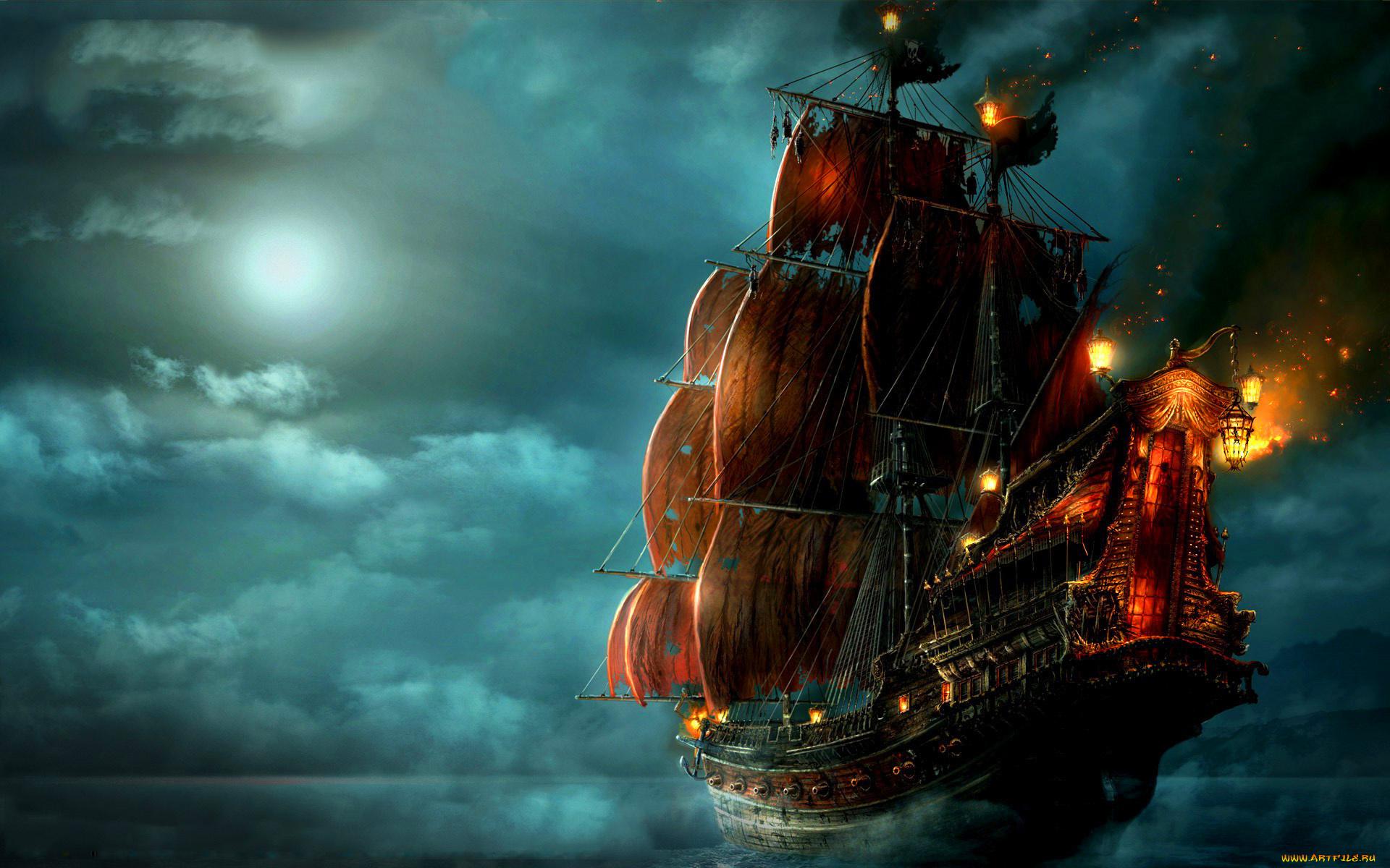 Крутые картинки кораблей, мужчины