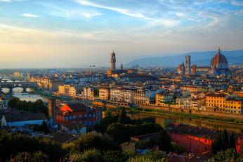 обоя florence,  italy, города, флоренция , италия, панорама