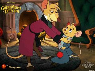 Картинка мультфильмы the great mouse detective