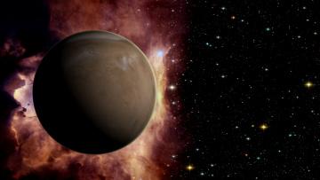 Картинка космос арт планета