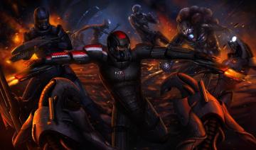 Картинка mass effect видео игры 3