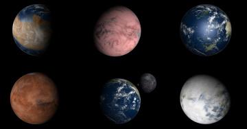 Картинка космос арт вселенная планеты
