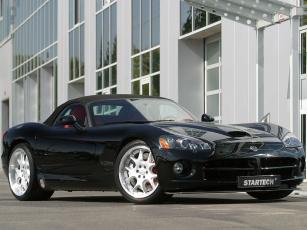 Картинка dodge viper star tech автомобили