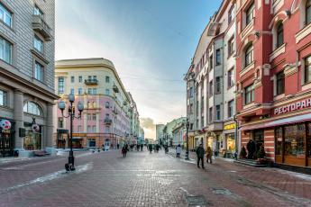 обоя москва, города, москва , россия, улица, арбат
