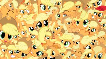 обоя мультфильмы, my little pony, пони, фон