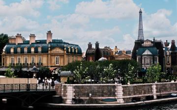 обоя города, париж , франция, мост, набережная