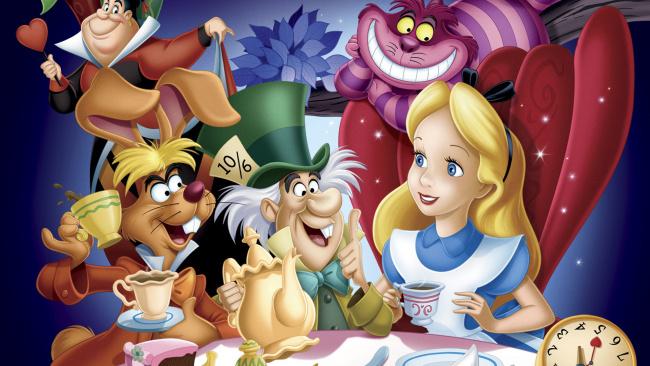 Обои картинки фото мультфильмы, alice in wonderland, персонажи