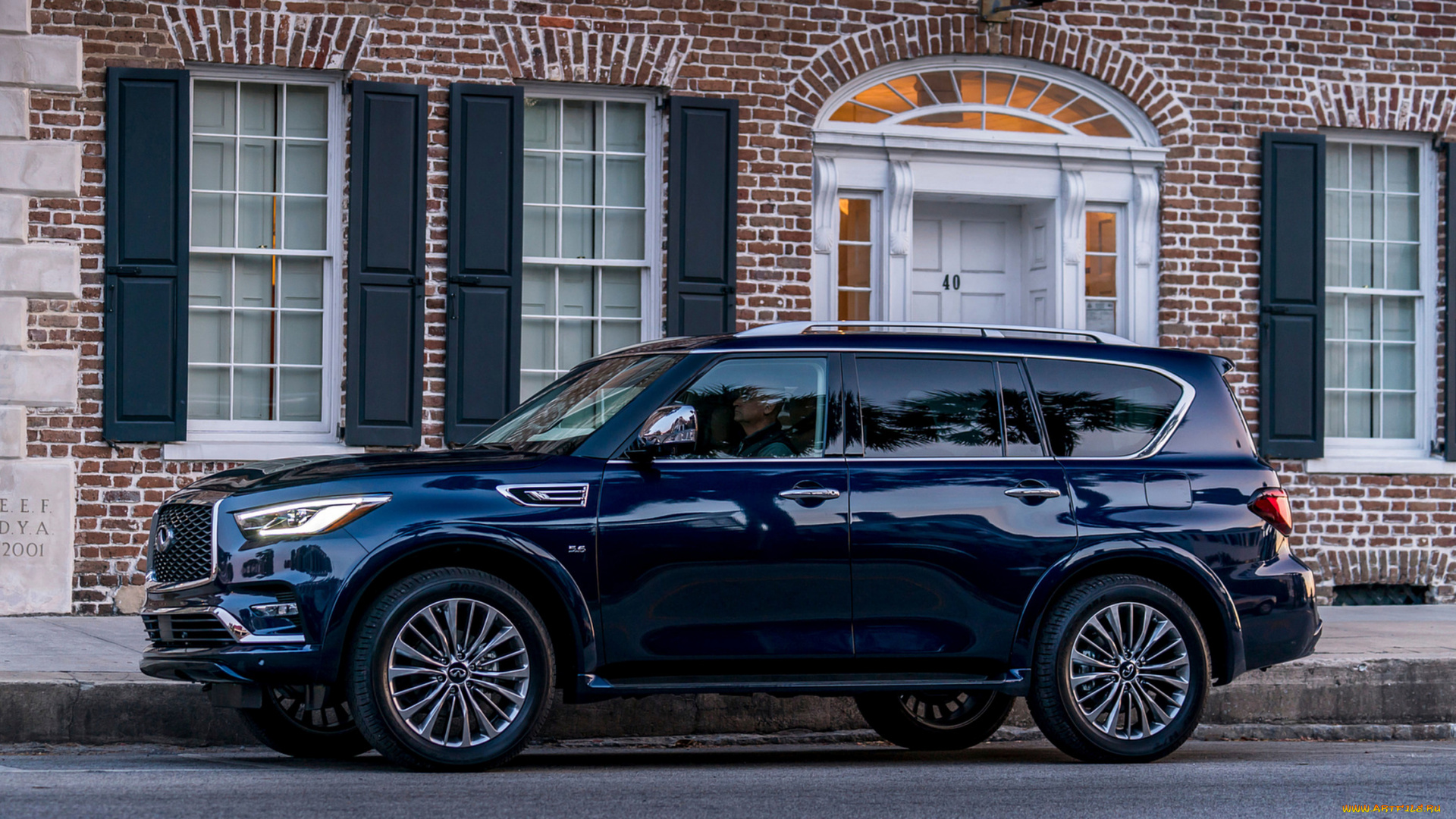 infiniti, qx80, 2018, автомобили, infiniti, 2018, blue, hermosa, color, qx80