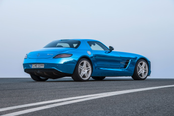 Картинка mercedes-benz+sls+amg+coupe+electric+car+2014 автомобили mercedes-benz 2014 blue sls car electric coupe amg