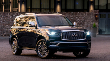 обоя infiniti qx80 2018, автомобили, infiniti, qx80, 2018, blue, hermosa, color