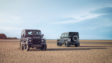 обоя land-rover defender autobiography edition 2015, автомобили, land-rover, 2015, edition, autobiography, defender