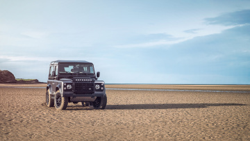 обоя land-rover defender autobiography edition 2015, автомобили, land-rover, autobiography, defender, edition, 2015