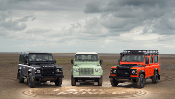 обоя land-rover defender limited editions 2015, автомобили, land-rover, defender, limited, editions, 2015