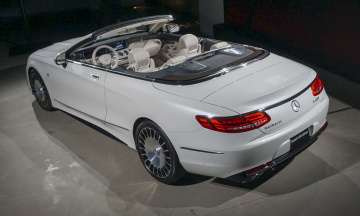обоя maybach- mercedes s650 cabriolet 2018, автомобили, mercedes-benz, cabriolet, s650, maybach-, mercedes, белый, 2018