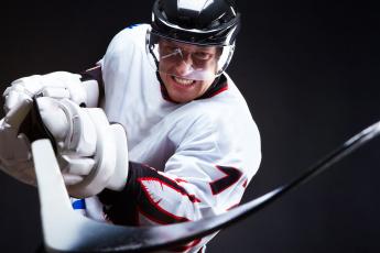 Картинка спорт хоккей клюшка шлем