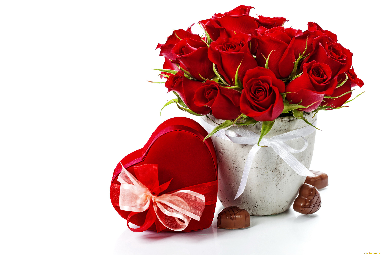Букет цветов сердцем открытки, свадебная открытка
