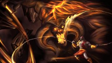 обоя фэнтези, демоны, демон