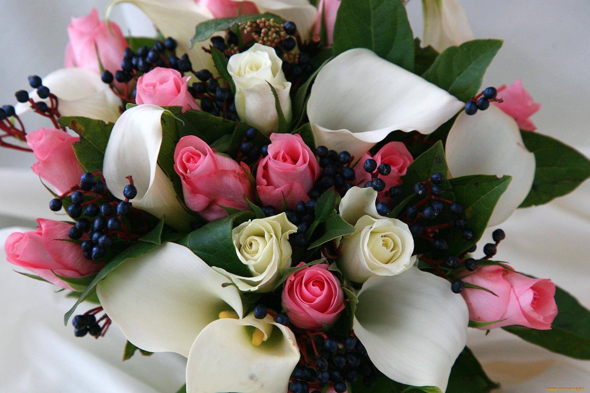 Картинки цветы каллы с днем рождения