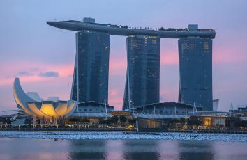 Картинка города сингапур+ сингапур здание