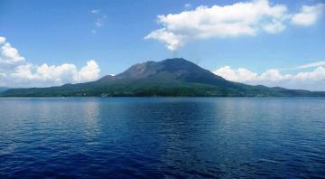 обоя природа, реки, озера, Япония, вулкан, сакурадзима