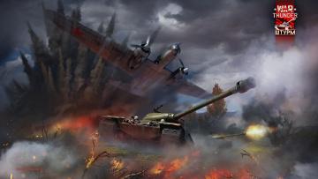 обоя видео игры, war thunder,  world of planes, онлайн, world, of, planes, war, thunder, action