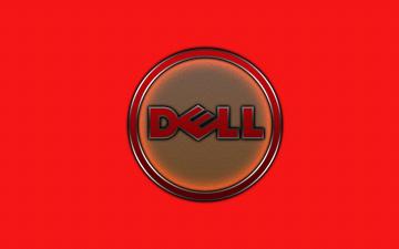 обоя компьютеры, dell, логотип, фон