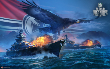 обоя видео игры, world of warships, action, онлайн, симулятор, world, of, warships