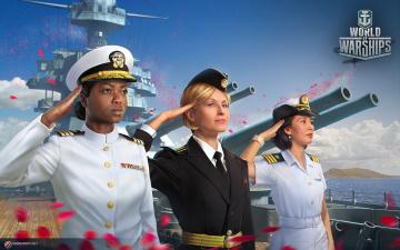 обоя видео игры, world of warships, симулятор, онлайн, action, world, of, warships