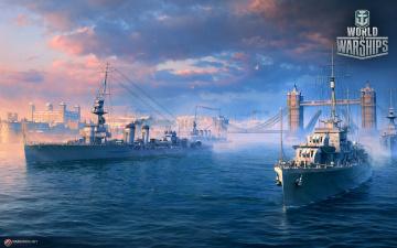 обоя видео игры, world of warships, world, of, warships, онлайн, action, симулятор