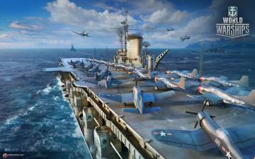 обоя видео игры, world of warships, world, of, warships, симулятор, action, онлайн