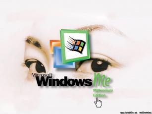 обоя компьютеры, windows, me