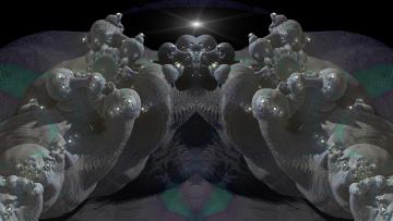 Картинка 3д+графика fractal+ фракталы узор фон цвета