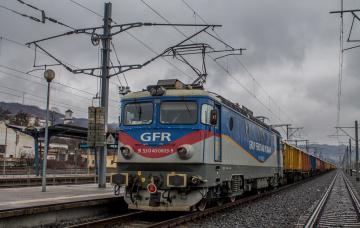 Картинка техника электровозы рельсы дорога состав локомотив железная