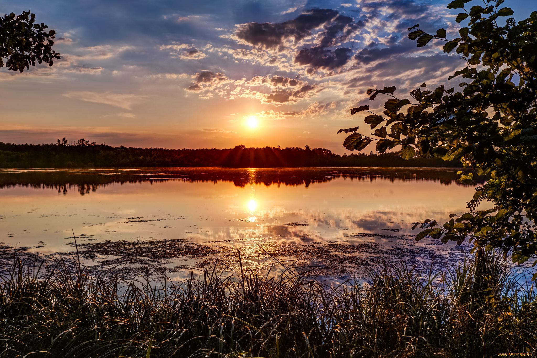 тетя, как фотографировать закаты и рассветы пример