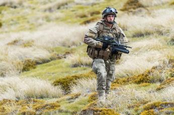 обоя оружие, армия, спецназ, new, zealand, defence, force, солдат
