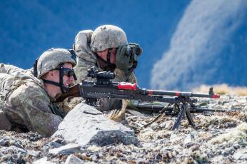 обоя оружие, армия, спецназ, солдат, new, zealand, defence, force