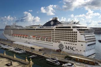 обоя msc magnifica, корабли, лайнеры, лайнер, круиз