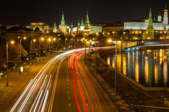 обоя города, москва , россия, москва-река, москва, московский, кремль