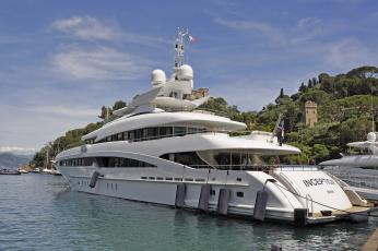 обоя inception super yacht, корабли, Яхты, суперяхта