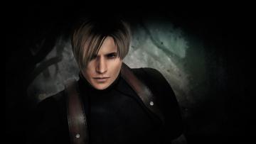 Картинка видео+игры resident+evil+4 resident evil 4 арт парень портрет