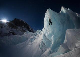 обоя спорт, экстрим, горы, лед, альпинизм, альпинист