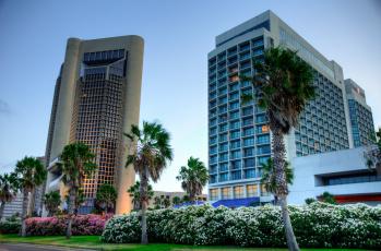 обоя downtown corpus christi,  texas, города, - здания,  дома, высотки