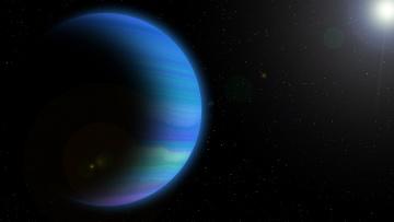 обоя космос, арт, звезды, вселенная, галактика, планета