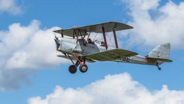 обоя tiger moth, авиация, лёгкие одномоторные самолёты, биплан