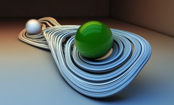 обоя 3д графика, шары , balls, фон, узор, цвета