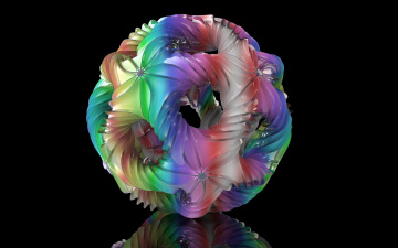 обоя 3д графика, абстракция , abstract, фон, узор, цвета