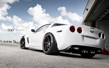 Картинка автомобили corvette