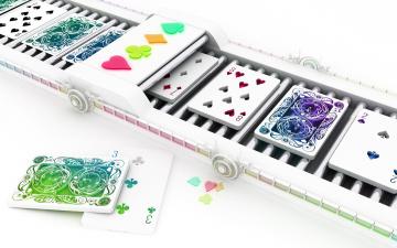 обоя игральнае карты, разное, настольные игры,  азартные игры, 3d, игра, карты, обои, модели, d
