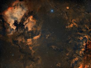 обоя космос, галактики, туманности, туманность
